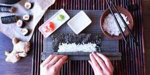 Japonské tajemství-kurz sushi - dárek k předplatnému časopisu EURO