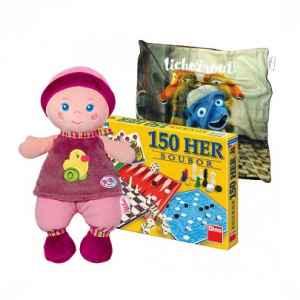 D1018E - Baby+hry+povlak - dárek k předplatnému časopisu DRÁČEK