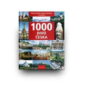 LAZ 1018-Kniha 1000 divů Česka - dárek k předplatnému časopisu Lidé a Země