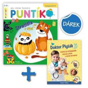Kniha Doktor Plyšák - dárek k předplatnému časopisu Puntík