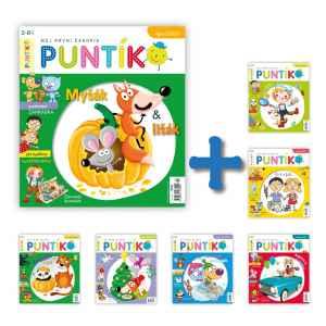 Starší čísla Puntík - dárek k předplatnému časopisu Puntík