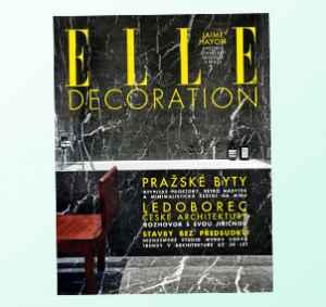 ED1804 (349,-/4 čísla) - dárek k předplatnému časopisu Elle Decoration