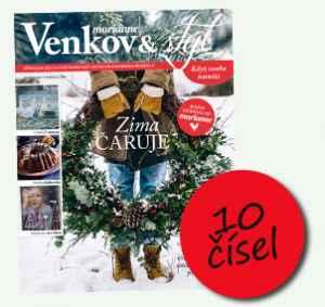 MV1809R (449,-/10 čísel) - dárek k předplatnému časopisu Marianne Venkov & styl