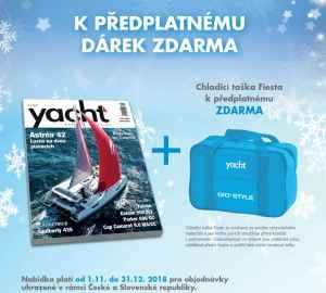 Chladící taška Fiesta menší - dárek k předplatnému časopisu YACHT