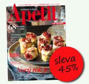 AK1812 (395,-/12 čísel) - dárek k předplatnému časopisu Apetit