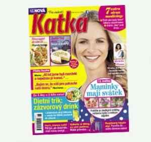 KAT19STR (599,-/52 čísel) - dárek k předplatnému časopisu Katka