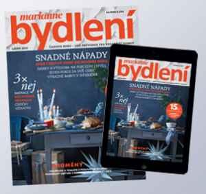 BK1812Dig (449,-/10 čísel) - dárek k předplatnému časopisu Marianne Bydlení