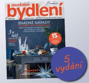 BK1812P (199,-/5 čísel) - dárek k předplatnému časopisu Marianne Bydlení