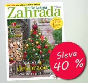 NKZ1812R (396,-/12 čísel) - dárek k předplatnému časopisu Naše krásná zahrada