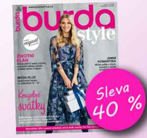 BUK1812 (969,-/12 čísel) - dárek k předplatnému časopisu Burda Style