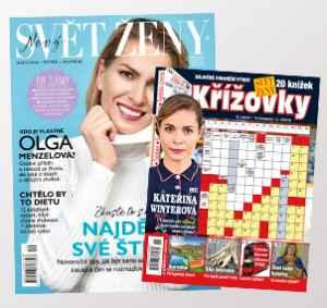 SK1812_K ( 349,-/ 2 tituly) - dárek k předplatnému časopisu Svět ženy
