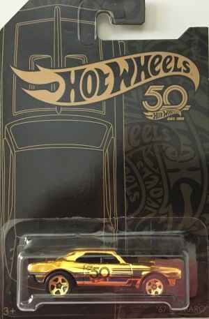 Auto Hot Wheels Camaro - dárek k předplatnému časopisu Hot Wheels