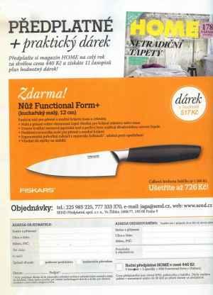 Nůž Functional Form+ - dárek k předplatnému časopisu HOME