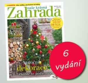 NKZ1812P (198,-/6 čísel) - dárek k předplatnému časopisu Naše krásná zahrada