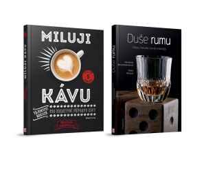 Kniha Miluji kávu + Duše rumu - dárek k předplatnému časopisu Motocykl