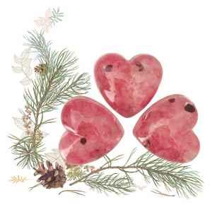 Léčivý orgonit ve tvaru srdce - dárek k předplatnému časopisu Rituals