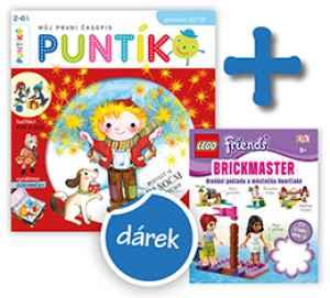Kniha Lego Friends - dárek k předplatnému časopisu Puntík