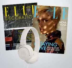 ED1804EL (1099,-/2 tituly) - dárek k předplatnému časopisu ELLE