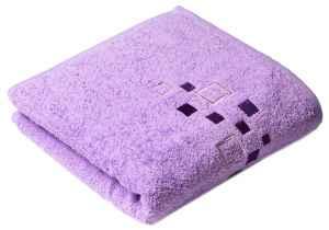 Osuška a ručník DENIS fialový - dárek k předplatnému časopisu Trucker