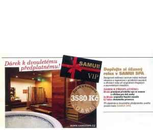 SAMUI SPA - dárek k předplatnému časopisu Playboy
