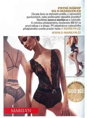 Poukaz E-MARILYN.CZ - dárek k předplatnému časopisu Playboy