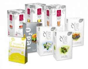 Předplatné 12 měsíců s dárkem roční předplatné - balíček čajů Biogena - dárek k předplatnému časopisu Kondice