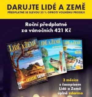 LAZ 1218K - 35% sleva - dárek k předplatnému časopisu Lidé a Země