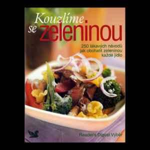 Předplatné 12 měsíců s dárkem roční předplatné + kniha Kouzlíme se zeleninou - dárek k předplatnému časopisu Receptář + Speciál