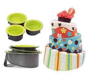 Předplatné 12 měsíců s dárkem roční předplatné + tři formy na pečení dortů - dárek k předplatnému časopisu Překvapení + speciály