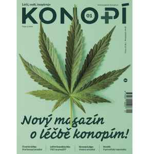 Konopí číslo 1/18 zdarma - dárek k předplatnému časopisu Konopí