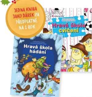Kniha Hravá škola - dárek k předplatnému časopisu Pastelka