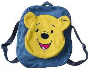 Plyšový batůžek s Medvídkem Pú - dárek k předplatnému časopisu Báječná školka
