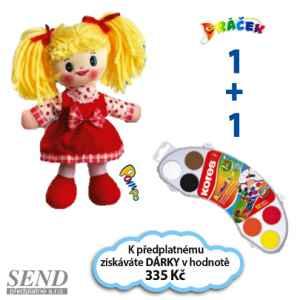 D0119A - Lucinka + Vodovky - dárek k předplatnému časopisu DRÁČEK