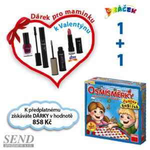 D0119C -  Kosmetika+osmisměrky - dárek k předplatnému časopisu DRÁČEK