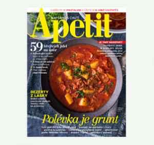 AP1902_12 (479,-/12 čísel) - dárek k předplatnému časopisu Apetit