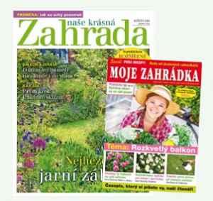 MZ19NKZ (540,-/ 2 tituly) - dárek k předplatnému časopisu Naše krásná zahrada