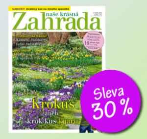 NKZ1902_S (459,-/12 čísel) - dárek k předplatnému časopisu Naše krásná zahrada