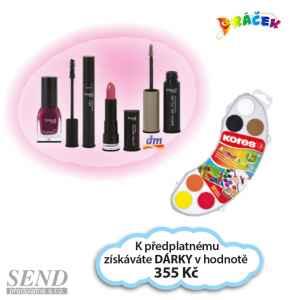 D0219B -  Kosmetika + vodovky - dárek k předplatnému časopisu DRÁČEK