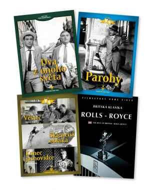 Sada 4 DVD - dárek k předplatnému časopisu Retro