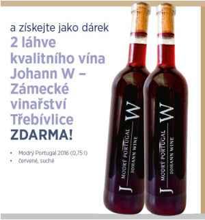 2 láhve vína Johann W. - dárek k předplatnému časopisu Postgraduální medicína