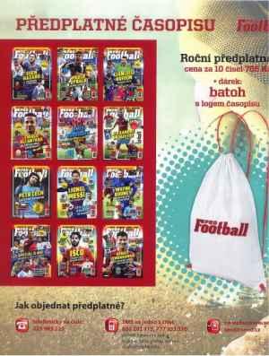 Batoh Pro Football - dárek k předplatnému časopisu PRO Football