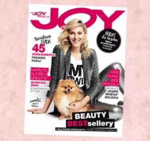 JOY1903_12 (319,-/12 čísel) - dárek k předplatnému časopisu Joy