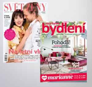 ČEDOK2019 (699,-/2 tituly) - dárek k předplatnému časopisu Marianne Bydlení