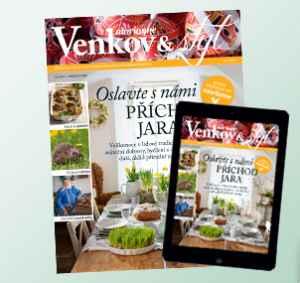 MV19DigSF (539,-/10 čísel) - dárek k předplatnému časopisu Marianne Venkov & styl