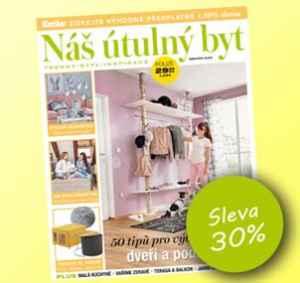 NUB1904 (249,-/12 čísel) - dárek k předplatnému časopisu Náš útulný byt