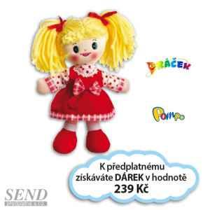 D0419E - Lucinka - dárek k předplatnému časopisu DRÁČEK