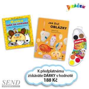 D0419A - Oblázky+Katka+Vodov. - dárek k předplatnému časopisu DRÁČEK
