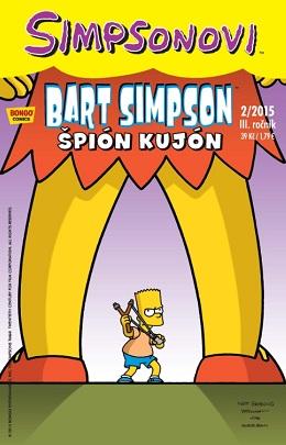 obálka Bart Simpson