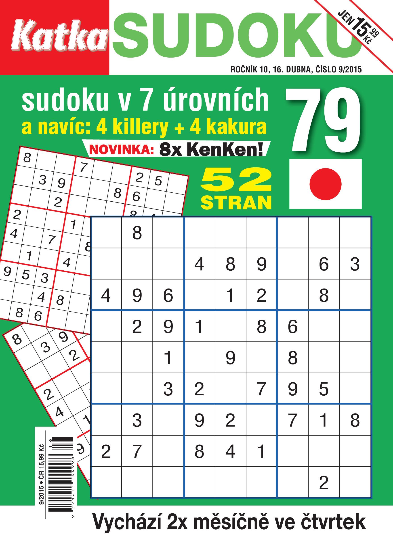 obálka Katka Sudoku