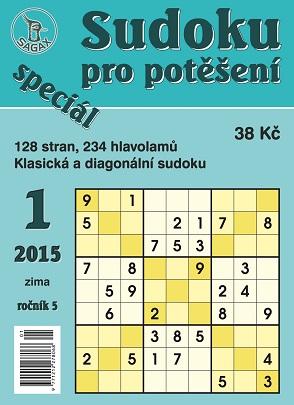 obálka Sudoku pro potěšení speciál